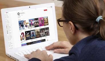 YouTube ofrece más de 100 películas de buena calidad gratis, pero con una condición